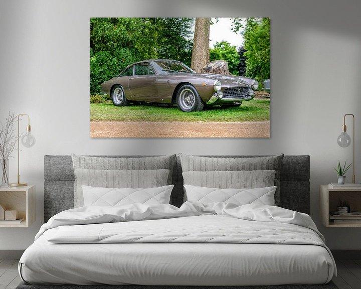 Sfeerimpressie: Ferrari 250 GT Berlinetta Lusso Klassieke Italiaanse GT-auto uit de jaren 60 van Sjoerd van der Wal