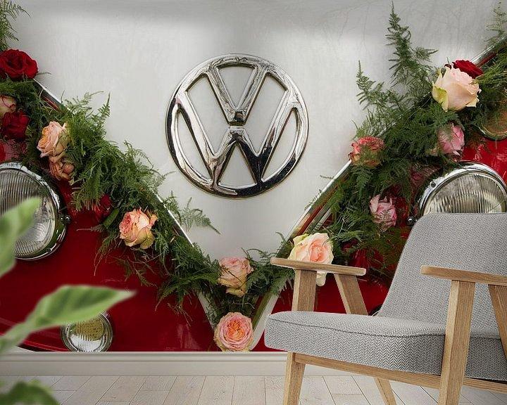 Sfeerimpressie behang: Keukenhof van Wendy Bierings