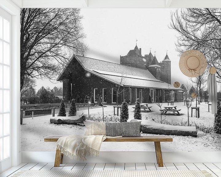 Sfeerimpressie behang: Het Koetshuijs, Slot Assumburg van Paul Beentjes