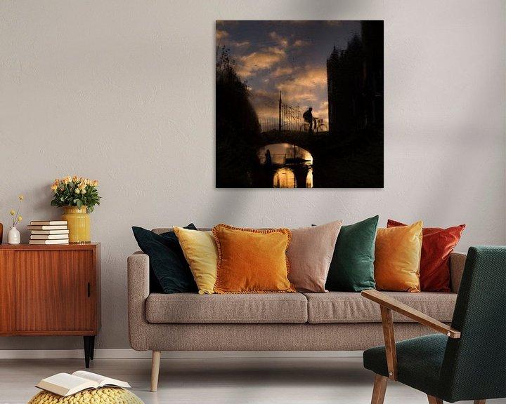 Sfeerimpressie: Reflectie bij Slot Assumburg van Paul Beentjes