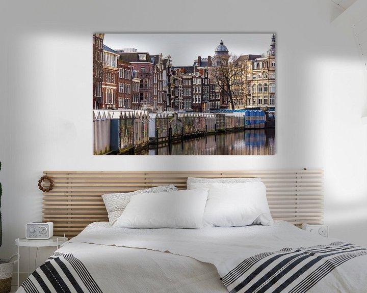 Sfeerimpressie: Amsterdam Bloemenmarkt van Sjoerd Tullenaar