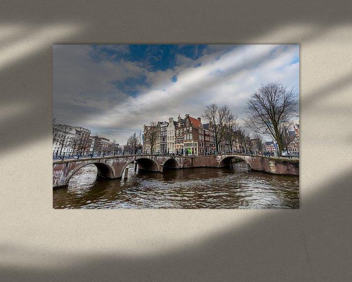 Sfeerimpressie: Amsterdam Keizersgracht 562-564 van Sjoerd Tullenaar