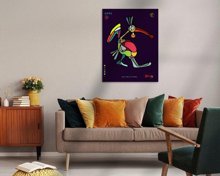 Sfeerimpressie: Fat Belly Bird van Michel Linthorst