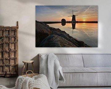 Molen het Noorden op Texel van Ronald Timmer