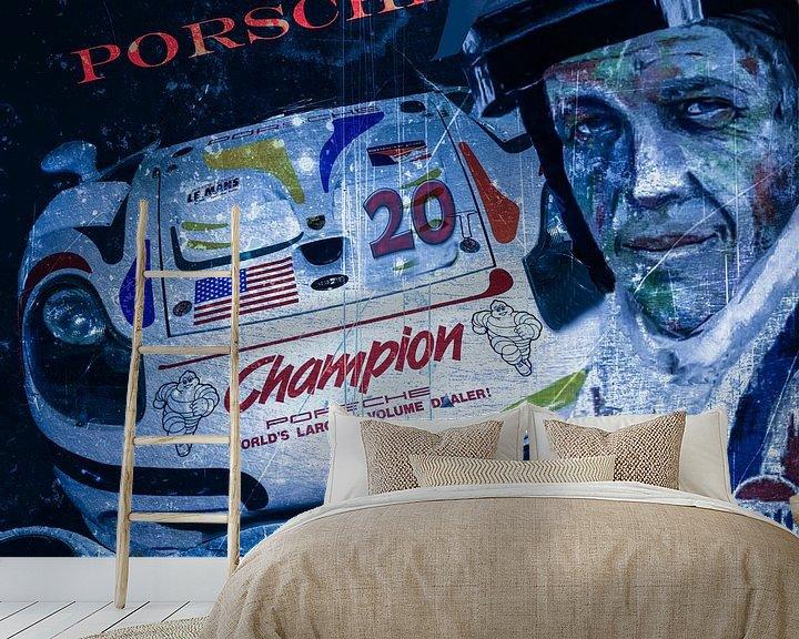 Sfeerimpressie behang: Steve McQueen... van Christine Nöhmeier
