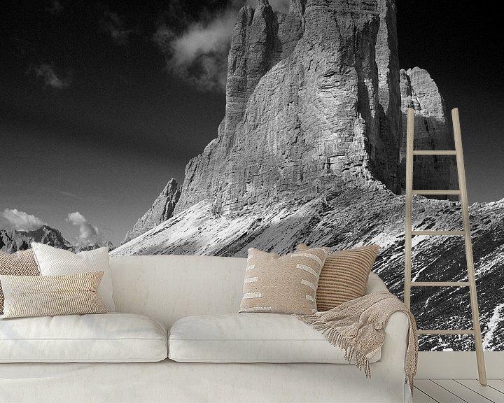 Sfeerimpressie behang: Dolomites I van Cor Ritmeester