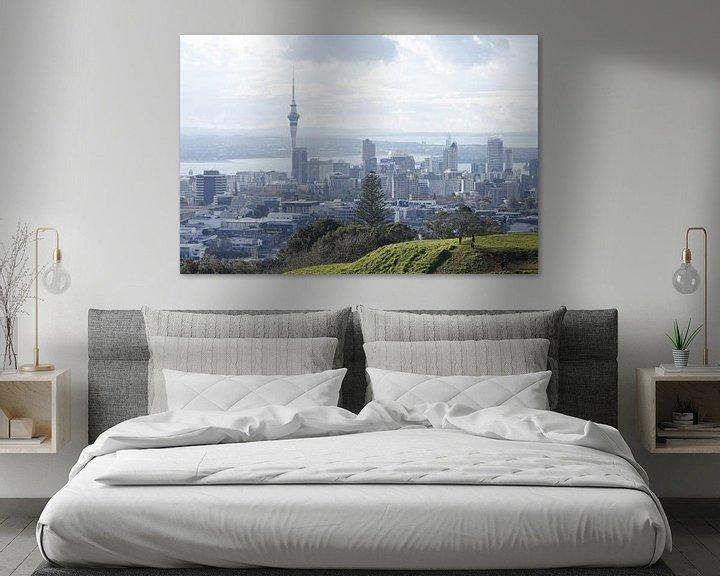 Sfeerimpressie: Auckland skyline van Inge Teunissen