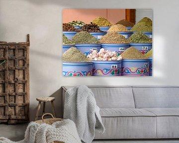 Kruiden in Marrakech sur Petra Brouwer