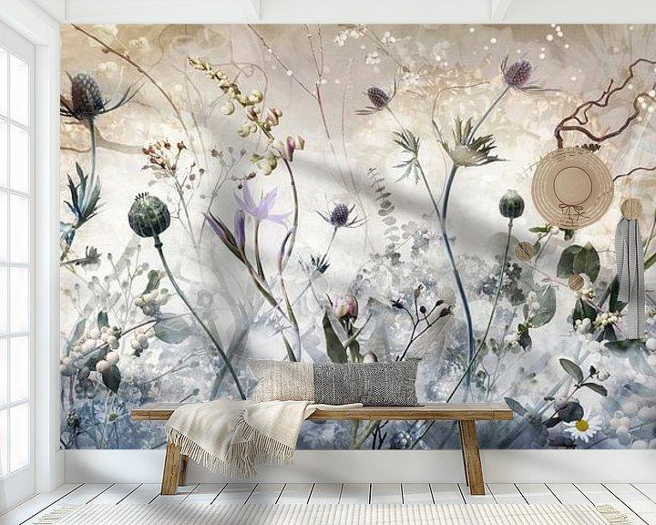 Sfeerimpressie behang: Weightless van Jesper Krijgsman