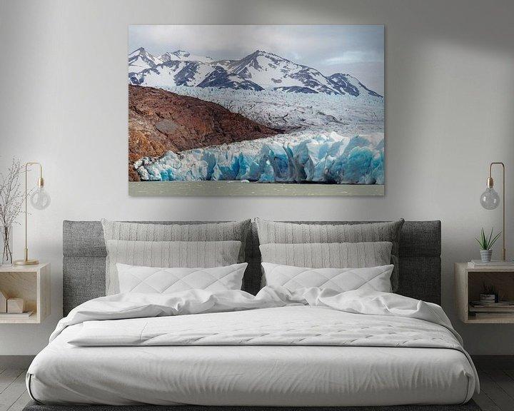 Sfeerimpressie: Grey Meer in Chili van Trudy van der Werf