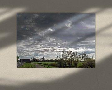 Wolkenlucht van Rinke Velds
