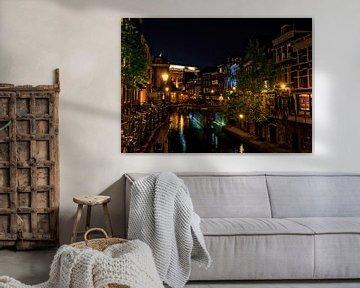 Vismarkt op een zwoele lenteavond von Robin Pics (verliefd op Utrecht)