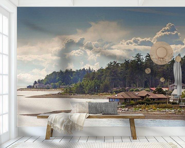 Impression: Coastline Canada Vancouver island sur Menno Schaefer