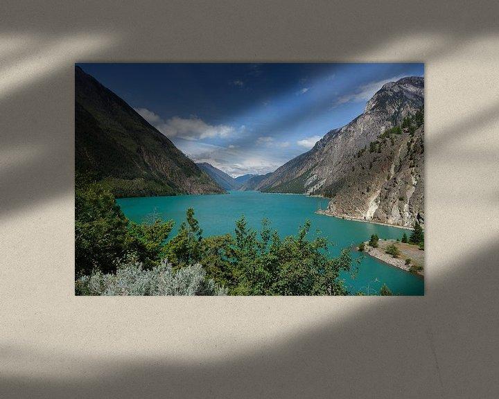 Sfeerimpressie: Canada turquoise meer van Menno Schaefer