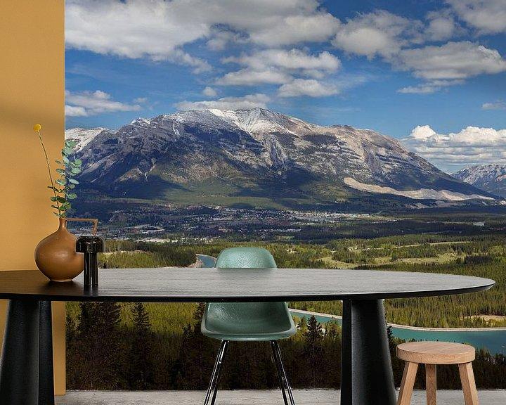 Sfeerimpressie behang: Uitzicht Canada van Menno Schaefer