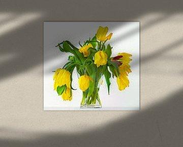 Gelbe Tulpen von Leopold Brix