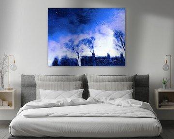 Winter Blue(s) 2>3 van MoArt (Maurice Heuts)