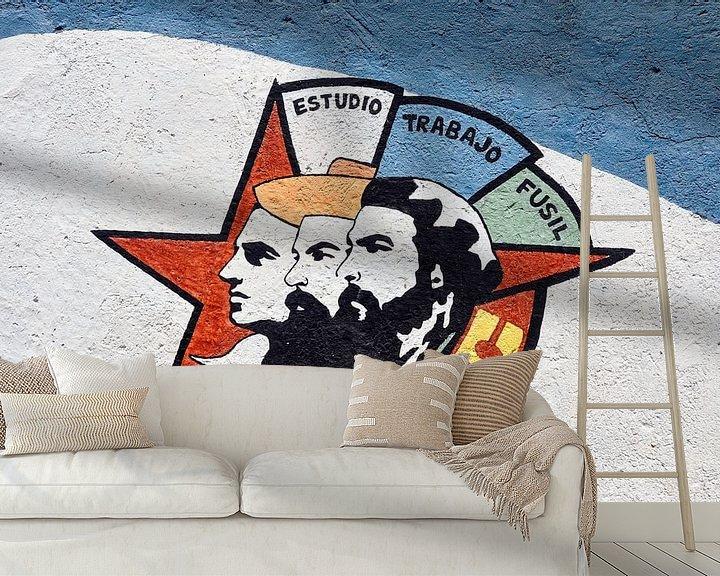 Impression: Cubaanse muurschildering sur Elles Rijsdijk