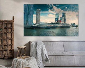 Rotterdam cruiseschip van Niels Hemmeryckx