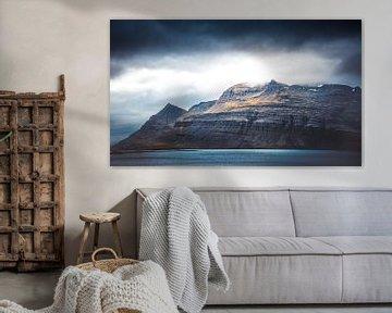 majestueuze berg Ijsland