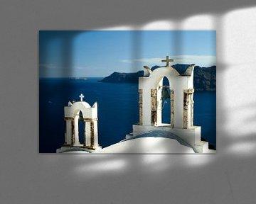 Zomers Santorini Griekenland van Ida Muller