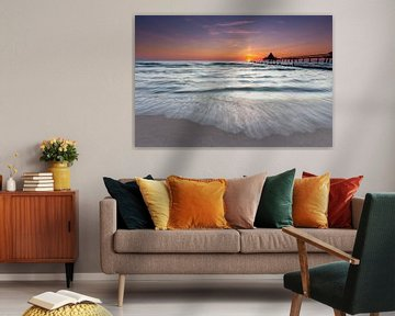 Strand van Heringsdorf van Tilo Grellmann | Photography