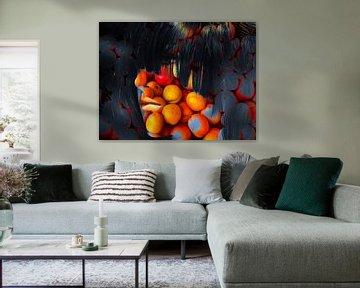 The woman with the oranges von Gabi Hampe