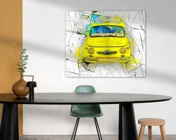 Yellow car van Leopold Brix