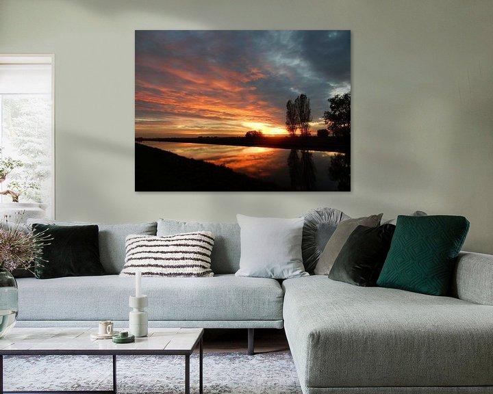 Impression: sunset sur bert jorritsma