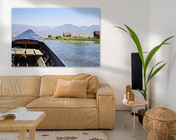 Erkundung des Inle-Sees mit dem Boot von Thijs van den Broek