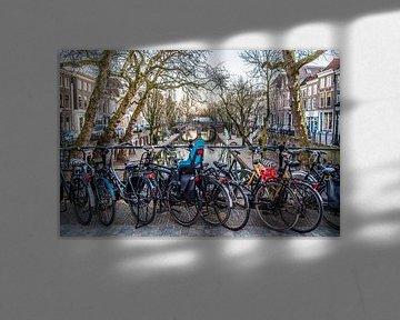 Tyypisch Utrecht: Fietsen aan de Oudegracht