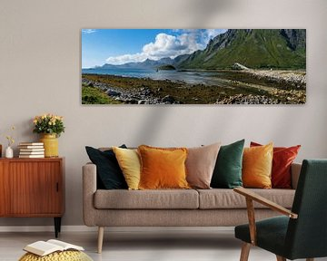 Brug over het fjord von Joke Beers-Blom