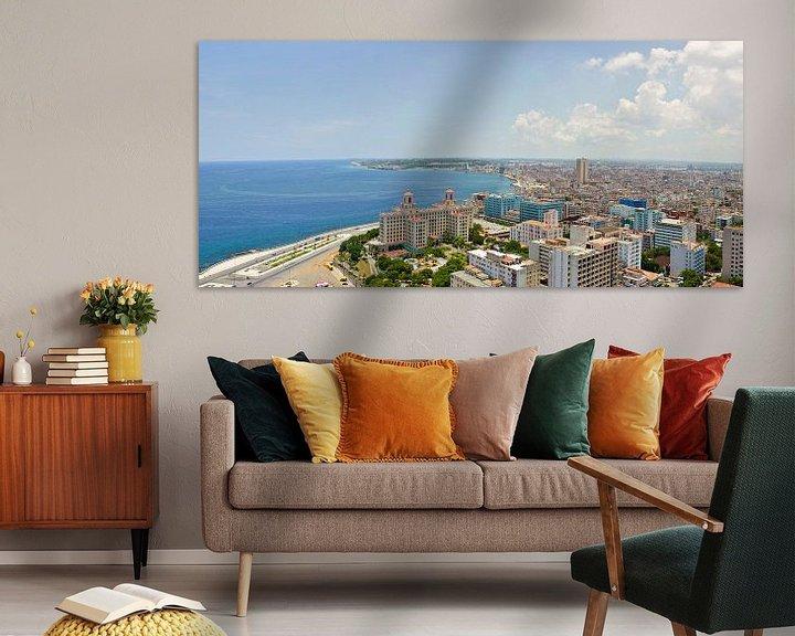 Sfeerimpressie: Uitzicht op Hotel Nacional, Havana, Cuba van Capture the Light