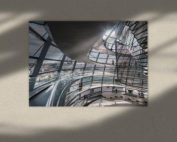 Reichstag Berlin – Inside the dome von David Pronk