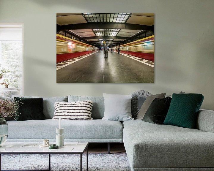 Sfeerimpressie: Bahnhof Zoologischer Garten – Berlijn van David Pronk