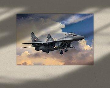 Mikojan-Goerevitsj MiG-29 #3 van Gert Hilbink