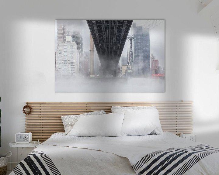 Sfeerimpressie: Manhattan - New York City (Queensboro Bridge) van Marcel Kerdijk