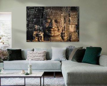 Boeddha King Jayavarman VII van Dirk Verwoerd