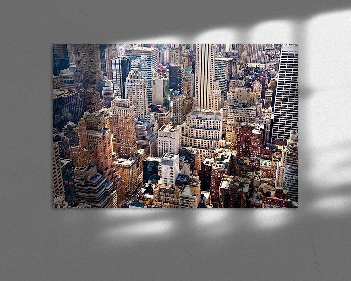 Sfeerimpressie: New York from above van Sander van Leeuwen