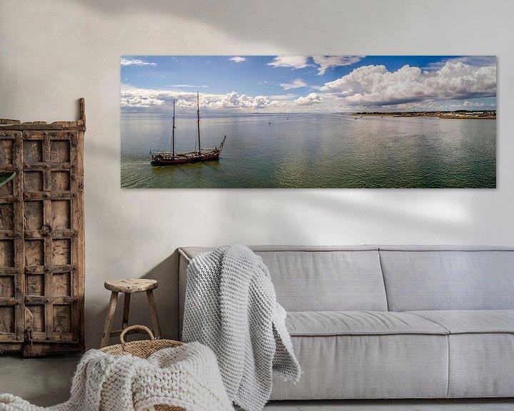 Sfeerimpressie: Welkom op Texel - Haven Oudeschild van Texel360Fotografie Richard Heerschap