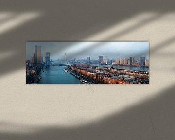 Panorama Rotterdam van Jasper Verolme