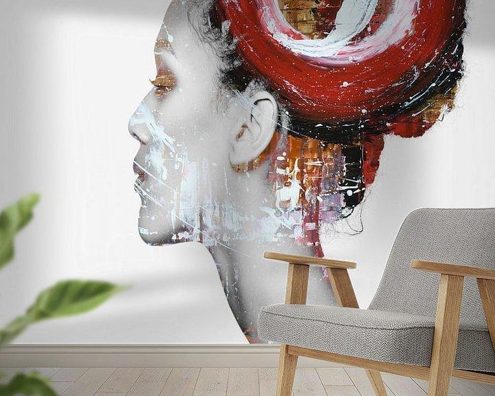 Impression: 23. silhouette, portrait, femme, Maaya. sur Alies werk