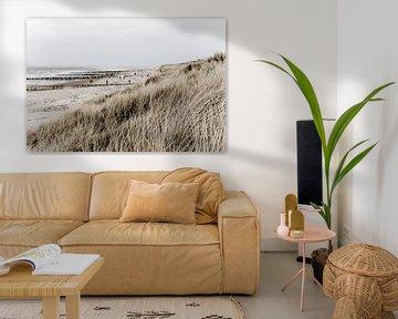 Sea, beach and dunes van Wilco Schippers