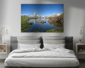 Matterhorn - Zermatt van Gerard Van Delft