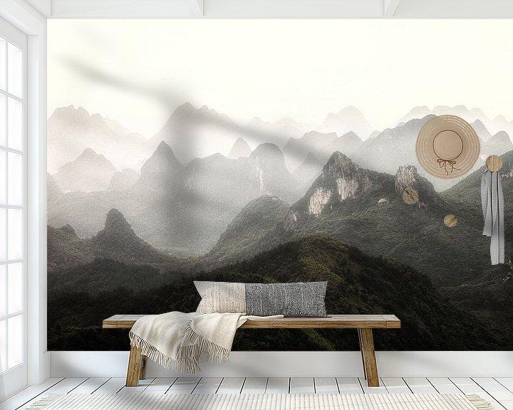 Sfeerimpressie behang: Guilin van Cho Tang