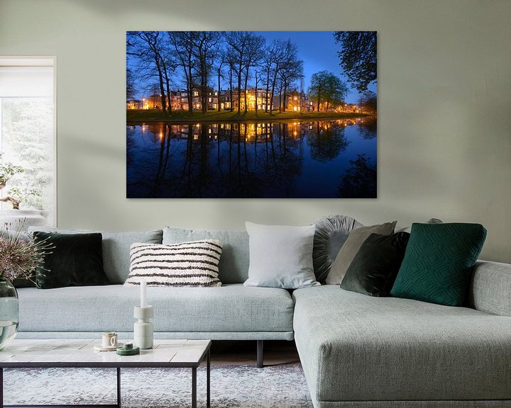 Sfeerimpressie: Maliesingel in Utrecht  van Donker Utrecht