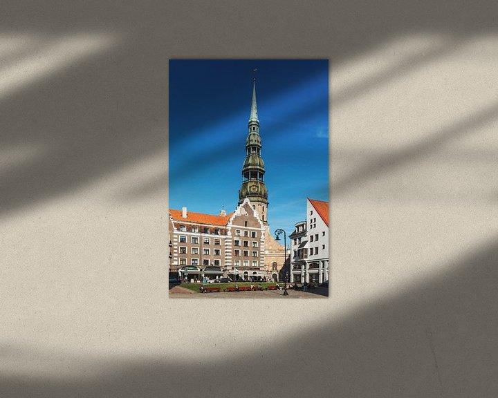 Sfeerimpressie: Riga, Latvia van Gunter Kirsch