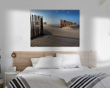 Zandvoort in de winter (kleur)