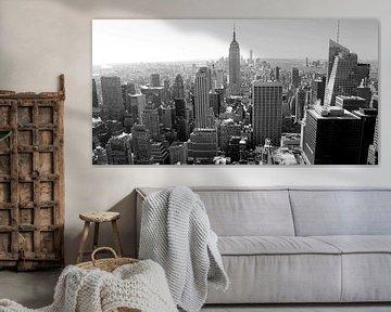 New York Black and White von Ferry Krauweel
