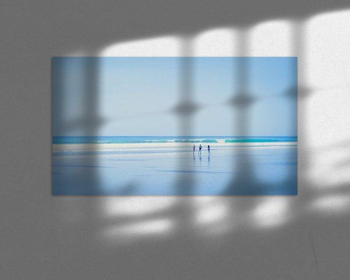 Sfeerimpressie: At the beach (1) van Rob van der Pijll